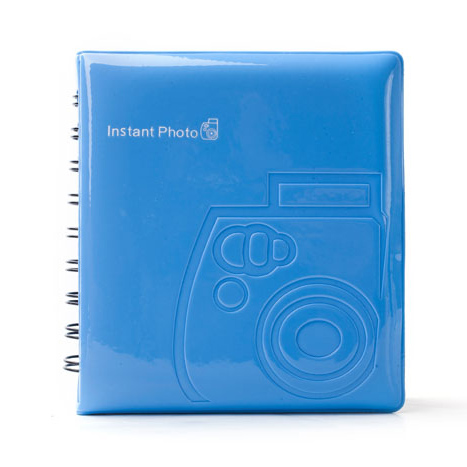 album instax mini blue