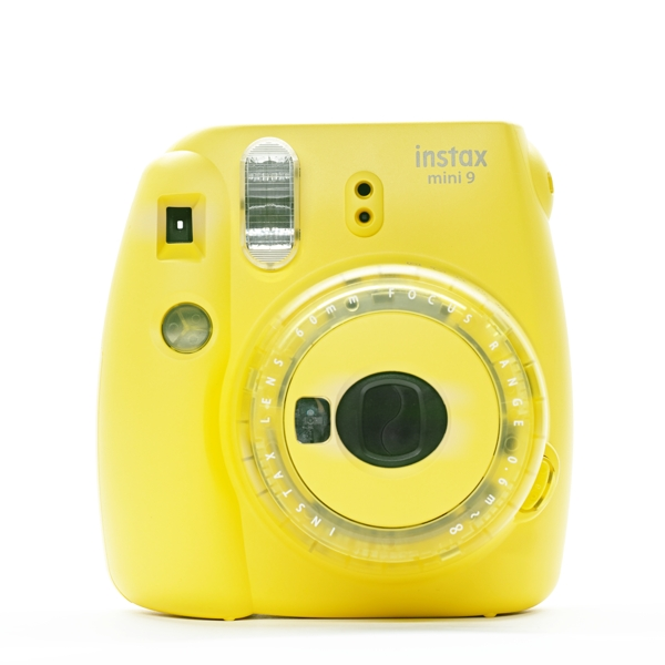 instax mini9 yellow limited