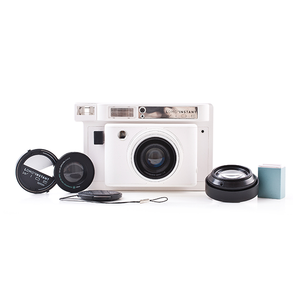 Lomo instant wide white and stuff