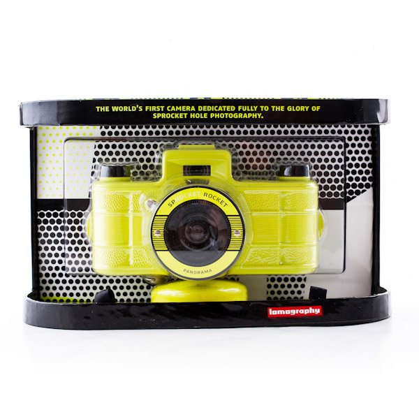 ломо камера sprocket rocket superpop yellow