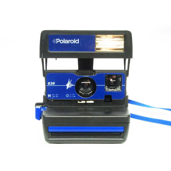 Polaroid 636 blue
