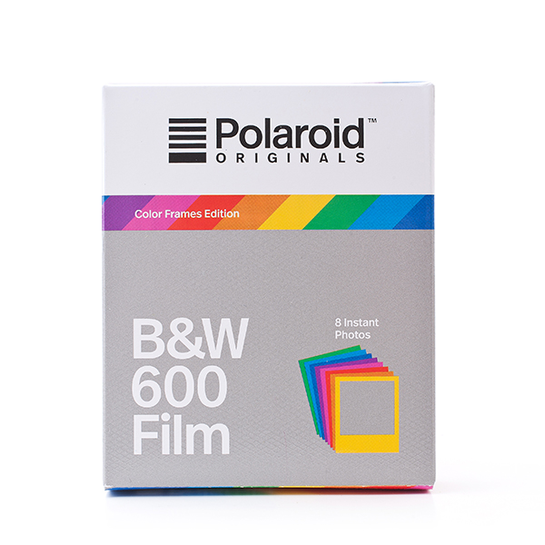 Polaroid BW Film for 600 Color Frames