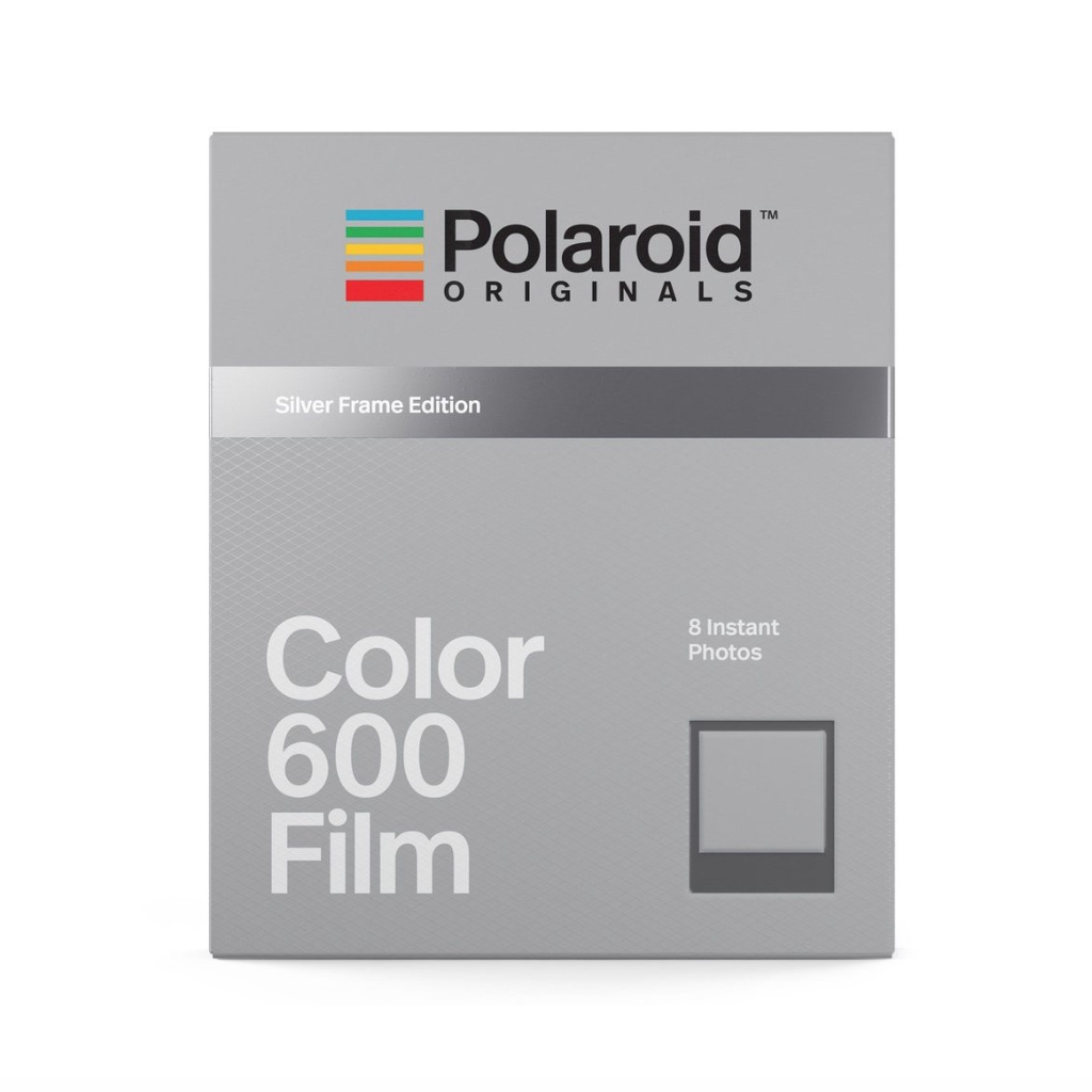 Кассеты Polaroid Originals Color 600 Silver Frame Edition