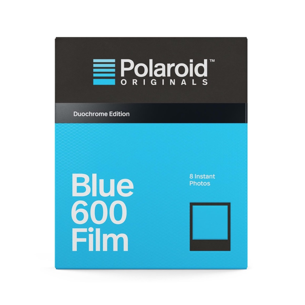 кассеты polaroid originals blue 600 duochrome